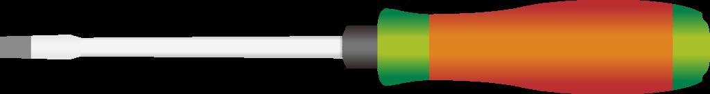 いろいろな用途に使える便利なマイナスドライバーのイラスト
