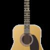 リアルなギターのイラスト