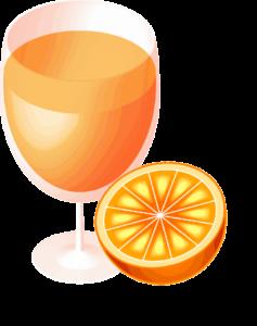 美味しそうなオレンジジュース