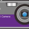 かっこいいコンパクトデジタルカメラのイラスト