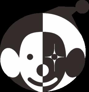 白黒ピエロ
