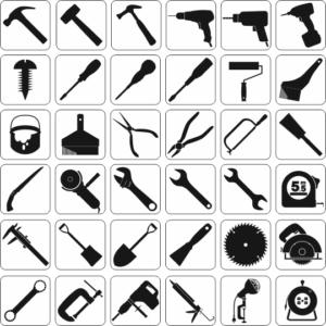 36個の工具アイコン