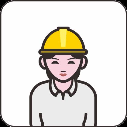 女性建設作業員