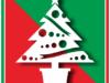 クリスマスツリーのカラーアイコン画像