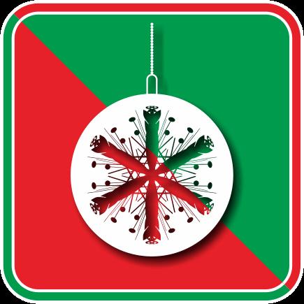 クリスマスオーナメントボール02のアイコン画像