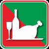 ワインと丸焼き七面鳥のアイコン画像