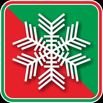 雪の結晶のアイコン画像02