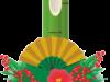 華やかな門松のイラスト画像