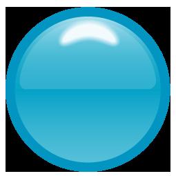 青色を基調にしたワンポイントイラスト画像