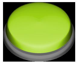 緑色の押しボタンのワンポイントイラスト画像