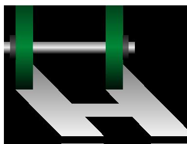 筋力トレーニング用ダンベルのイラスト